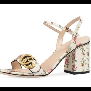 Gucci womans heeled sandals